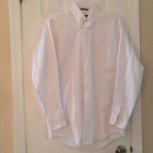 White button down oxford